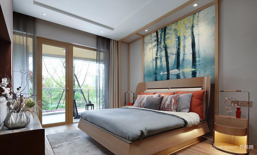 山水香颐中式风格装修效果图实景图