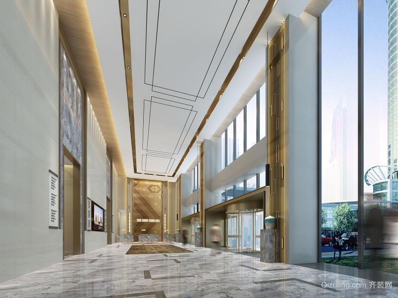 紫光精品酒店现代简约装修效果图实景图