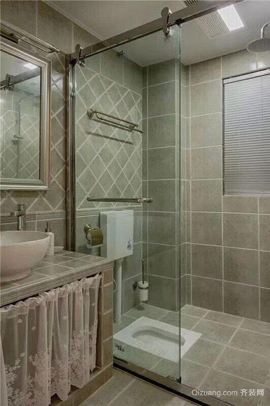 阳光凡尔赛宫美式风格装修效果图实景图