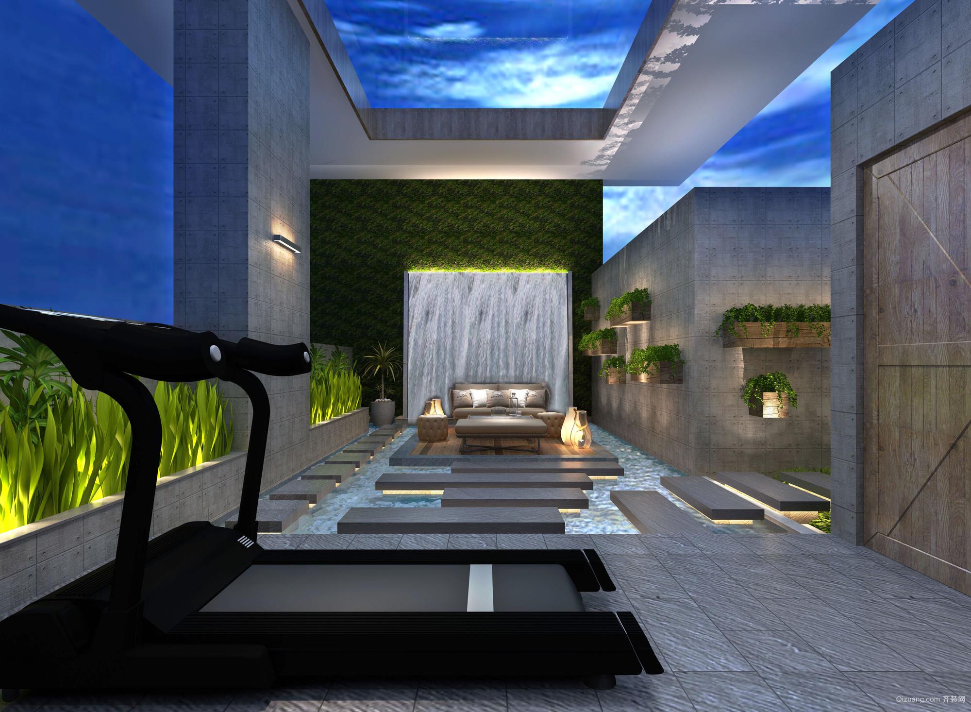 月珑湾豪庭现代简约装修效果图实景图