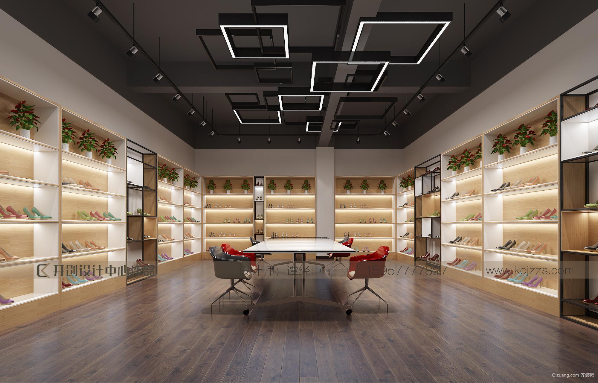 温州宝威贸易有限公司现代简约装修效果图实景图