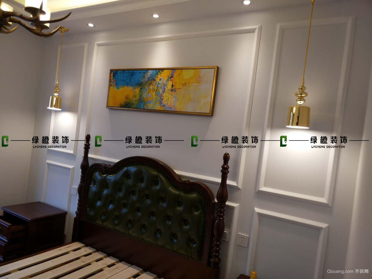 济南世茂天城中式风格装修效果图实景图