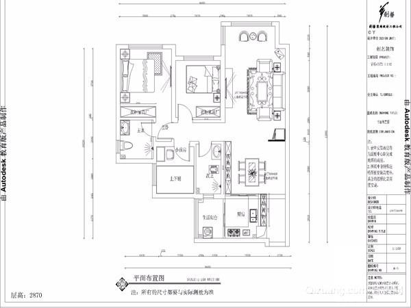 香颂e公馆古典风格装修效果图实景图
