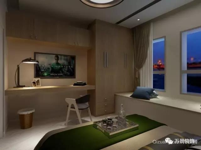 中冠商务大厦现代简约装修效果图实景图