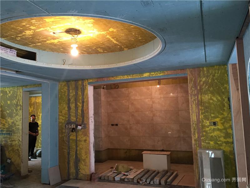 金科廊桥水岸中式风格装修效果图实景图