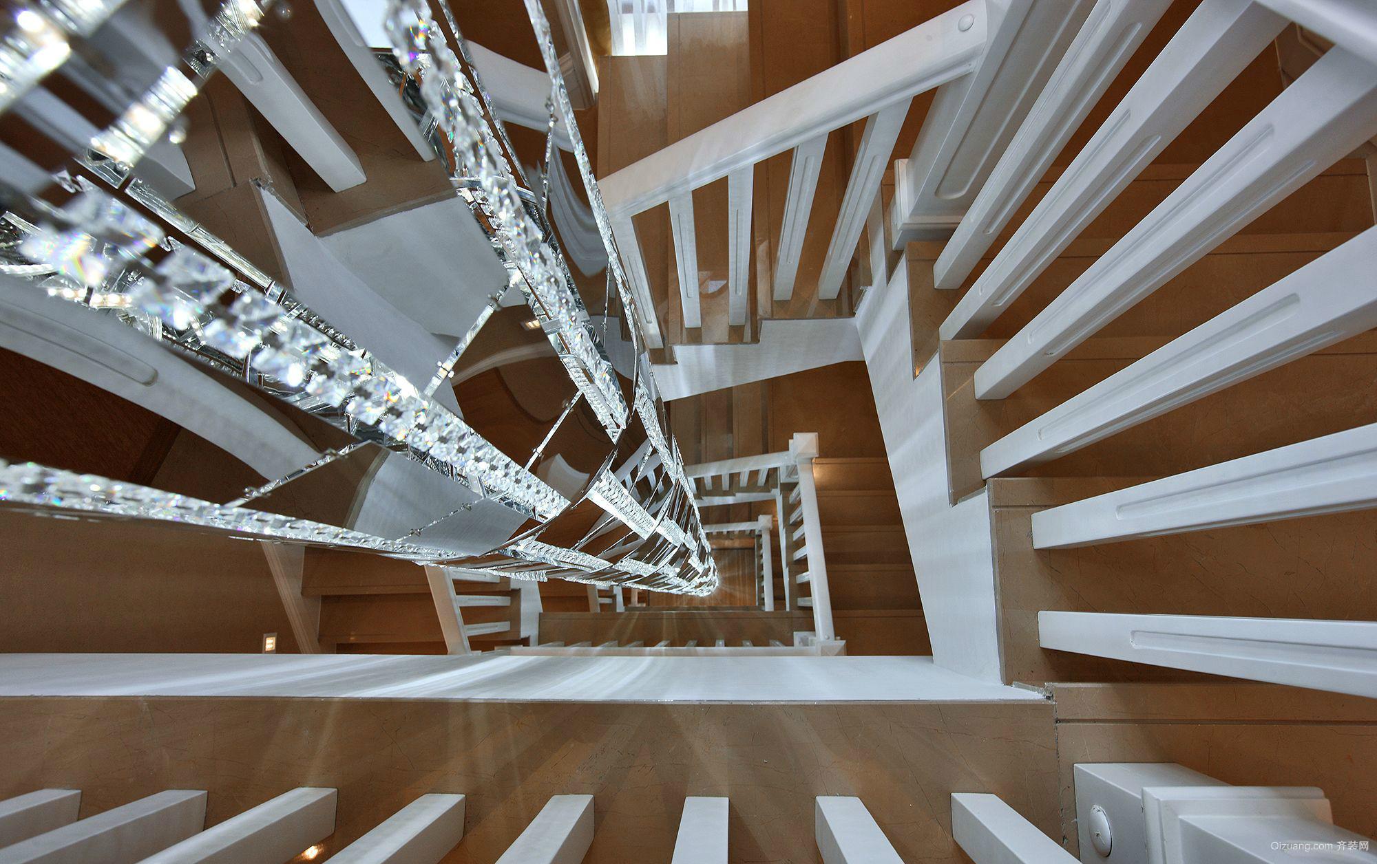 恒大发展大厦古典风格装修效果图实景图
