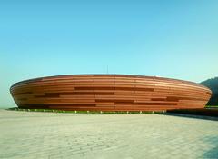 汕头大学体育馆幕墙