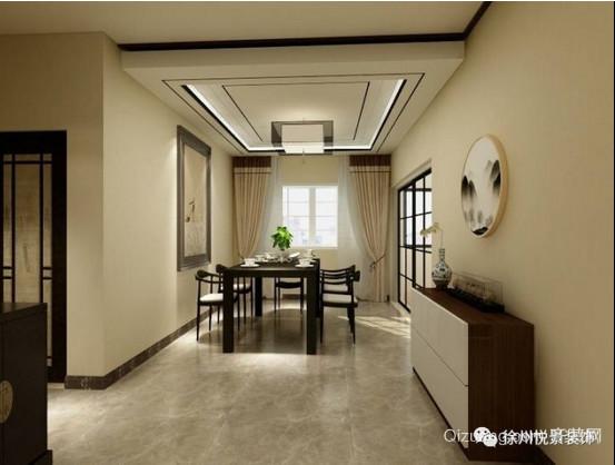 南湖尚苑中式风格装修效果图实景图