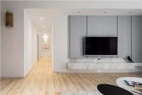127㎡现代风三居室,太适合年轻人居住了,清新舒适上档次