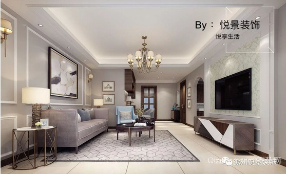 南湖尚苑现代简约装修效果图实景图