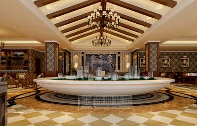 南充遵义售楼部装修设计案例