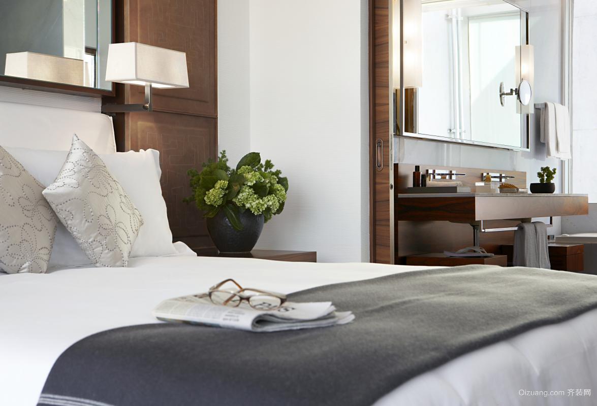 现代酒店现代简约装修效果图实景图