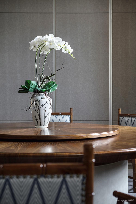 茶餐会所中式风格装修效果图实景图
