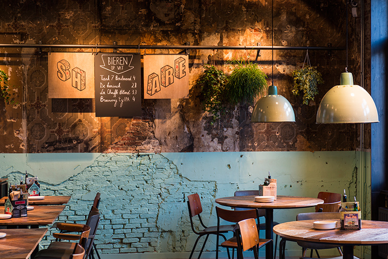 西餐厅现代简约装修效果图实景图