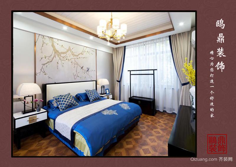 金苏公寓中式风格装修效果图实景图
