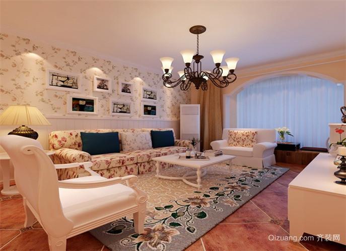 风尚米兰欧式风格装修效果图实景图