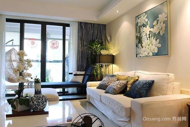 栖仙公寓现代简约装修效果图实景图
