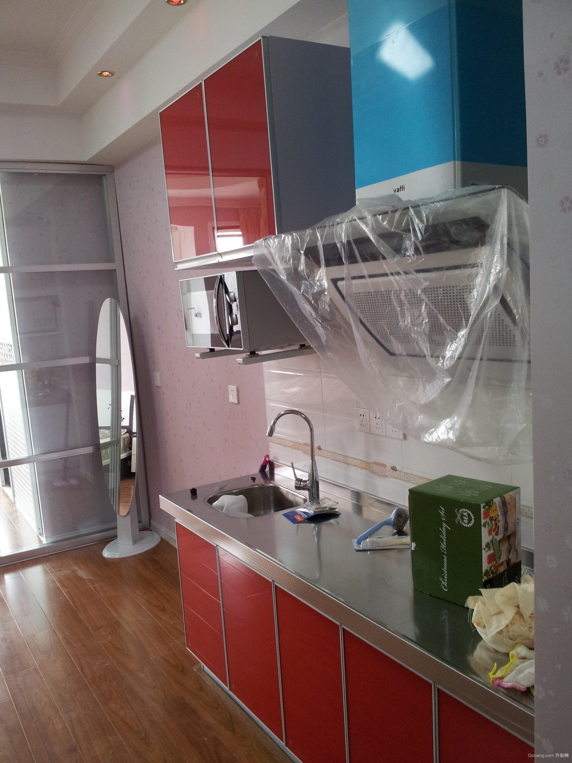 万达公寓现代简约装修效果图实景图