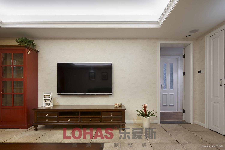 中海国际美式风格装修效果图实景图
