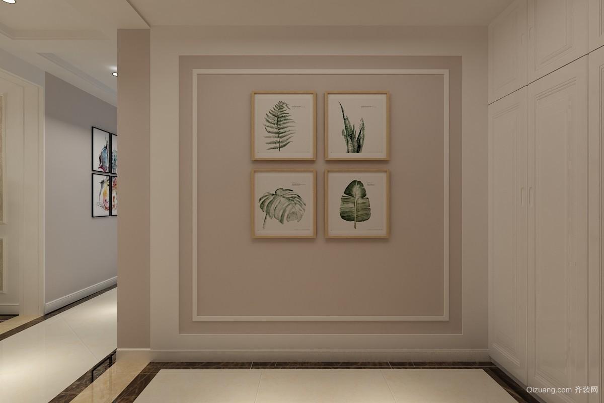 天泰阳光海岸现代简约装修效果图实景图