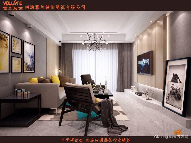中海上林院现代简约装修效果图实景图