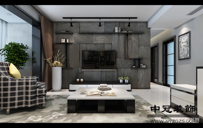 华强城现代简约装修效果图实景图