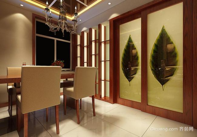 华润·橡树湾中式风格装修效果图实景图