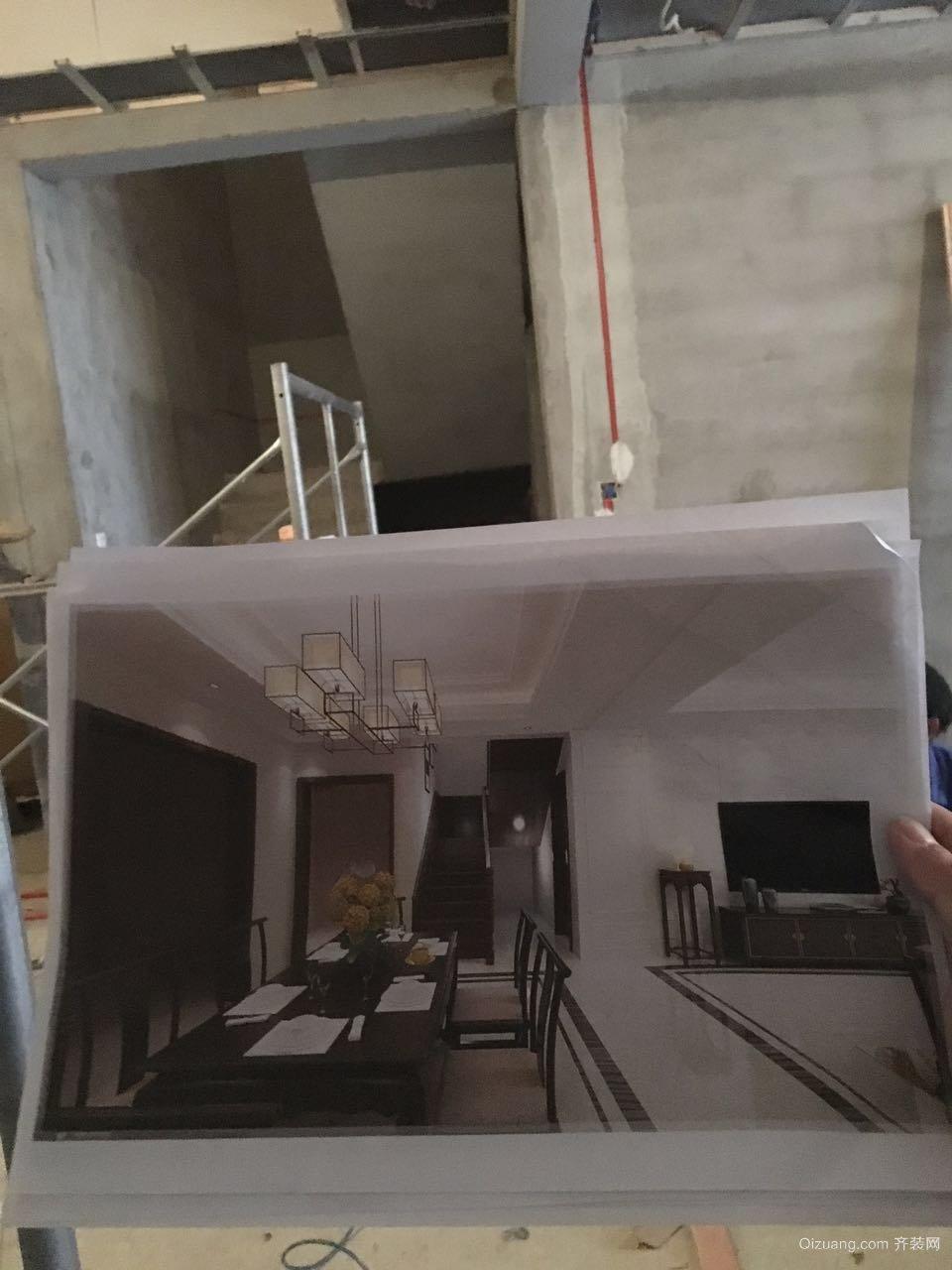 金屋二区现代简约装修效果图实景图