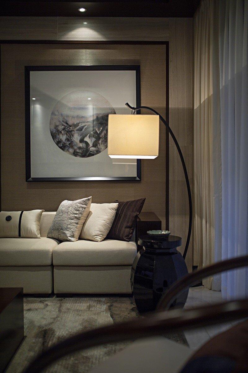 太阳雨家园中式风格装修效果图实景图