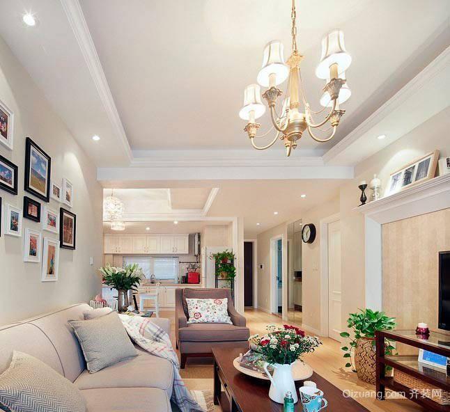 紫东家园欧式风格装修效果图实景图