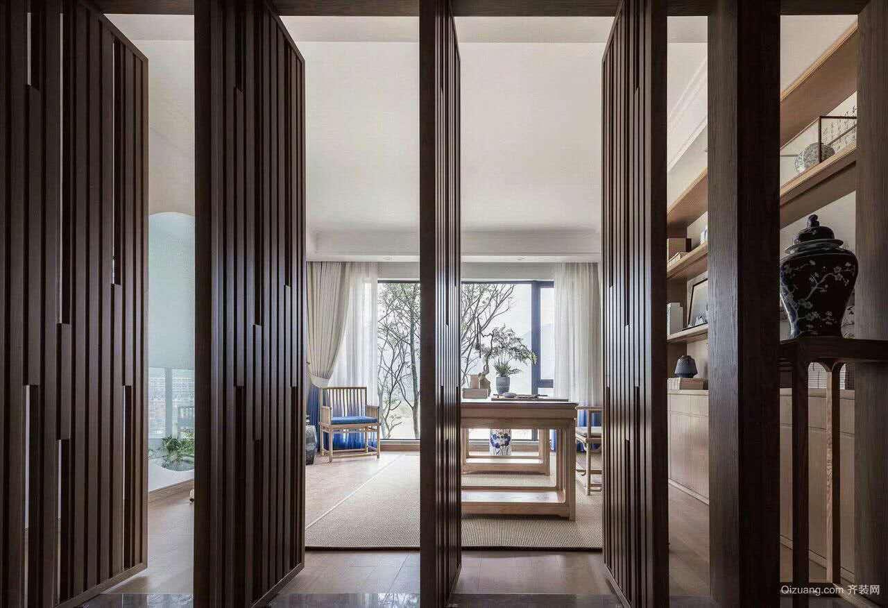 金海湾豪庭中式风格装修效果图实景图