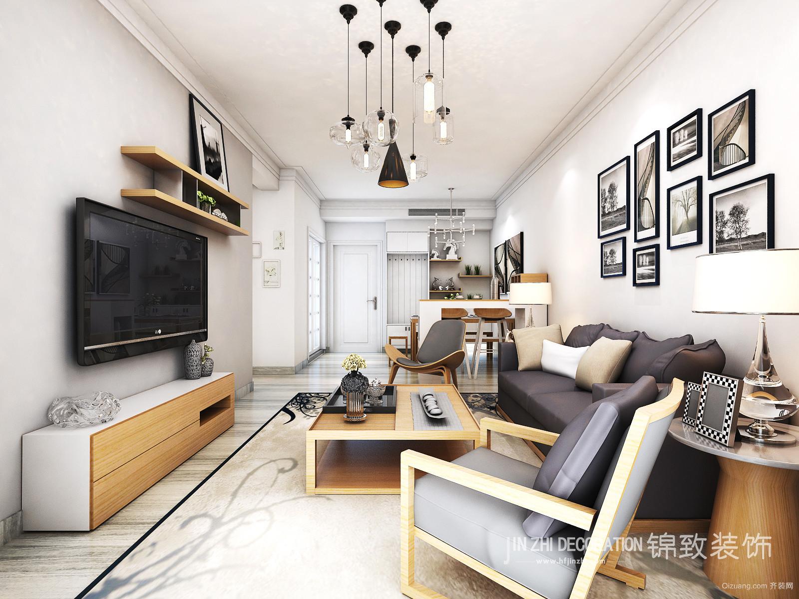 城建琥珀瑞安家园欧式风格装修效果图实景图
