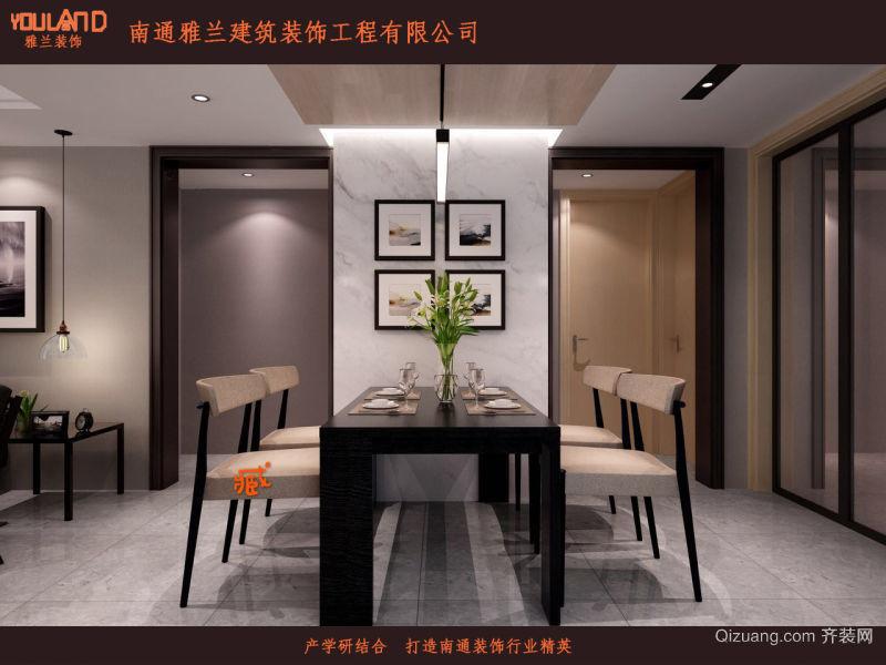 中海上林苑现代简约装修效果图实景图
