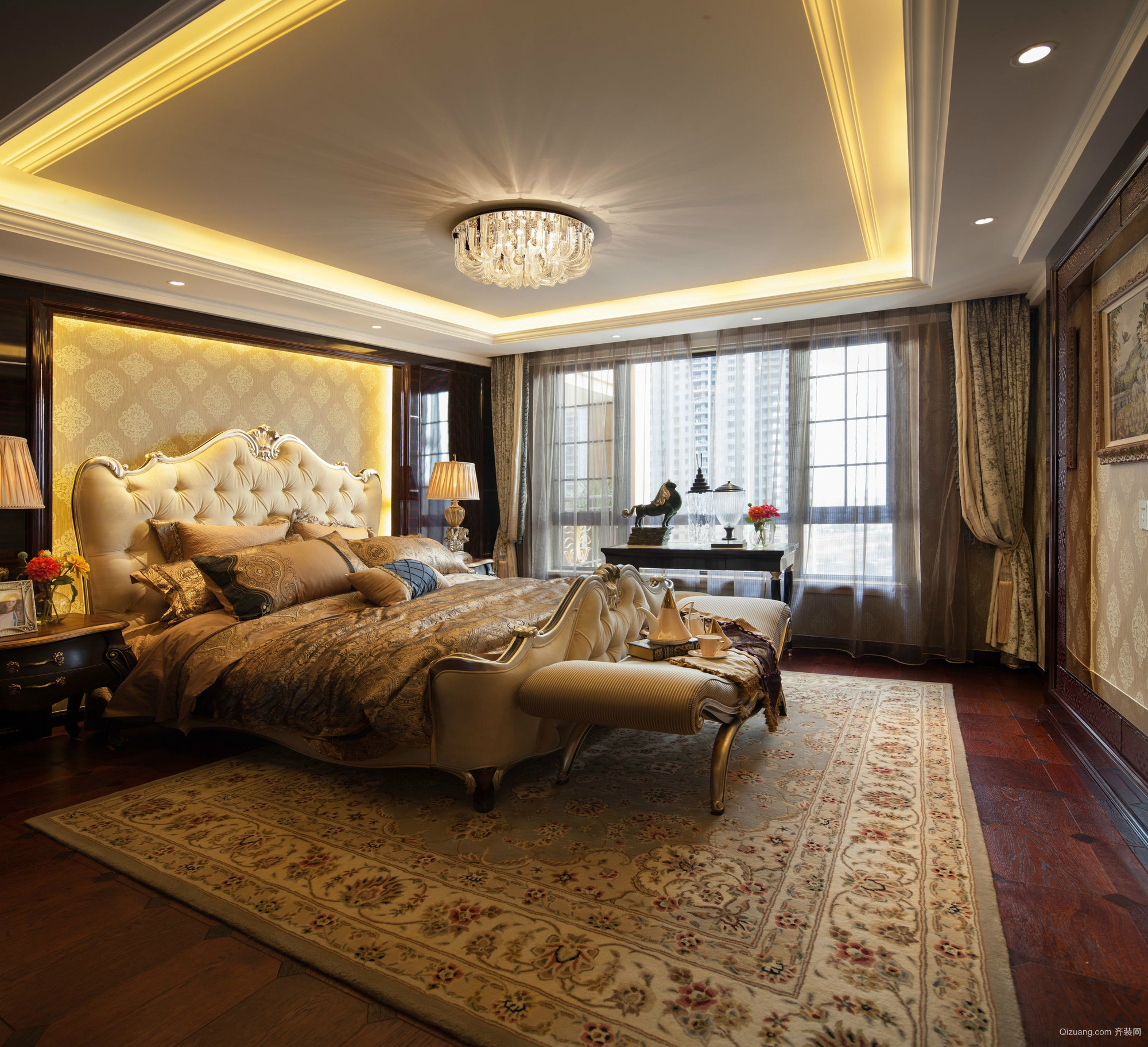 戈雅公寓欧式风格装修效果图实景图