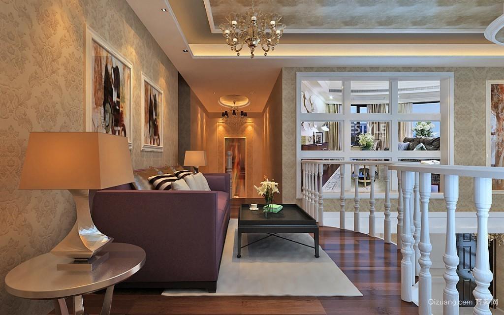 中央宫园欧式风格装修效果图实景图