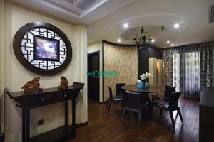 [中式风格]紫兰公寓120方