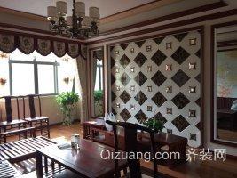 宇济·滨湖天地中式风格装修效果图实景图