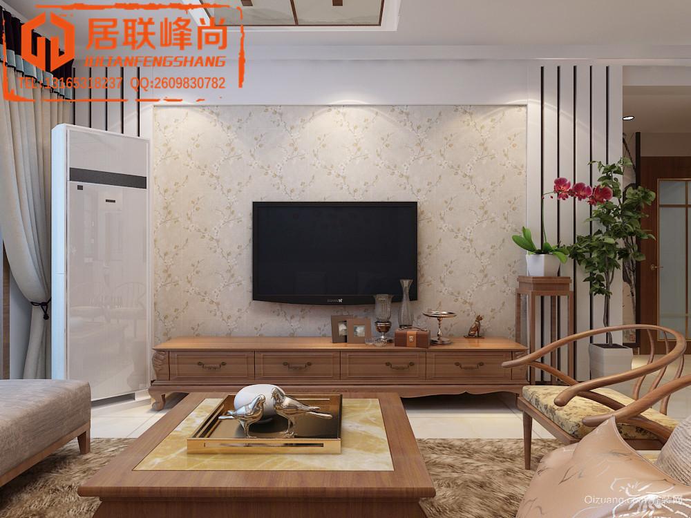 匡山琪鑫苑中式风格装修效果图实景图