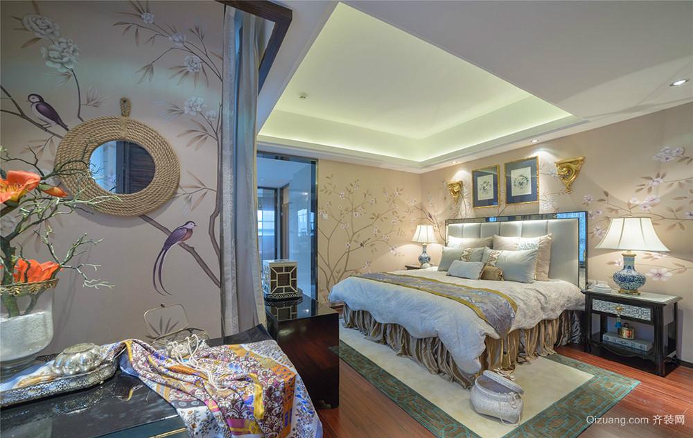 东港国际花园中式风格装修效果图实景图