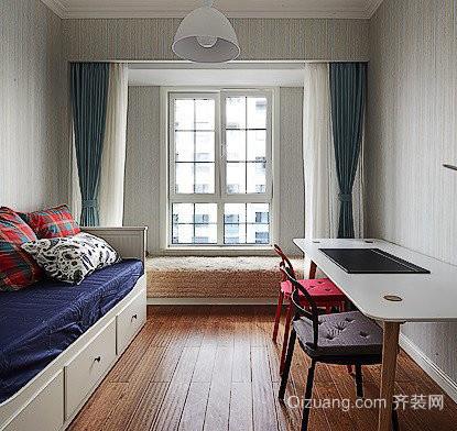 达世地产壹江城美式风格装修效果图实景图