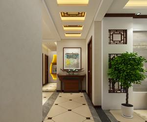 铜川144㎡中式风格装修效果图