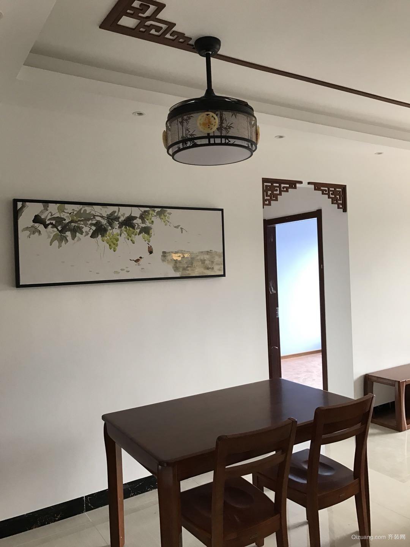 光大山湖城中式风格装修效果图实景图