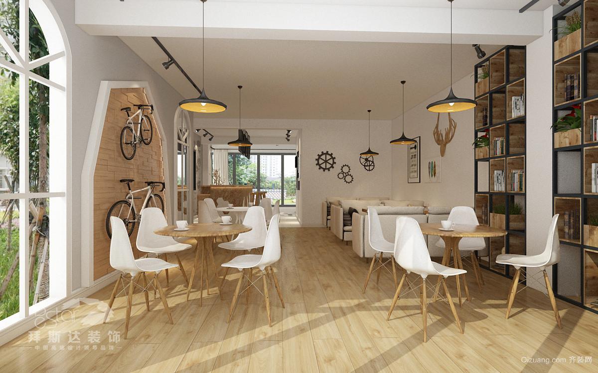 联投广场 咖啡馆现代简约装修效果图实景图