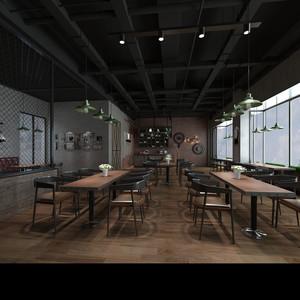 美式铁艺咖啡厅