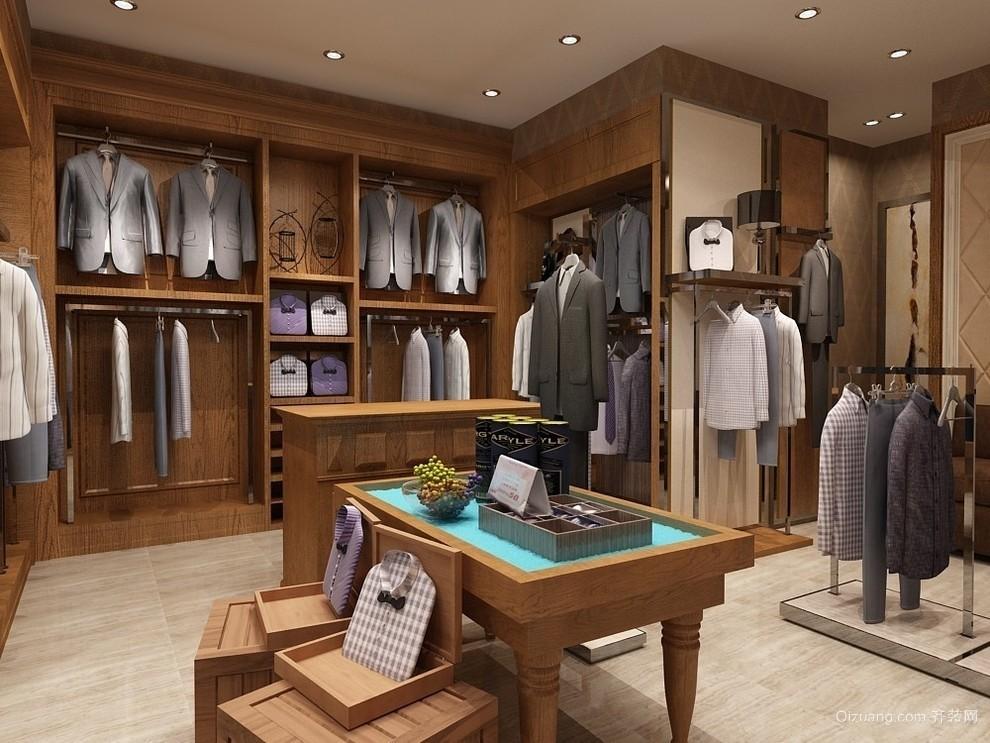 维加斯服装店现代简约装修效果图实景图