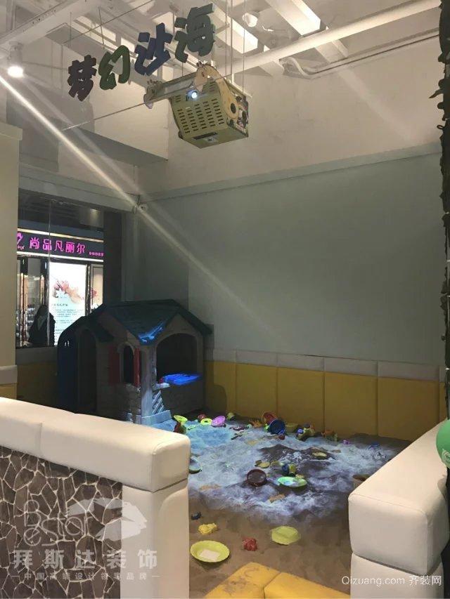 汉口城市广场 魔幻互动乐园现代简约装修效果图实景图