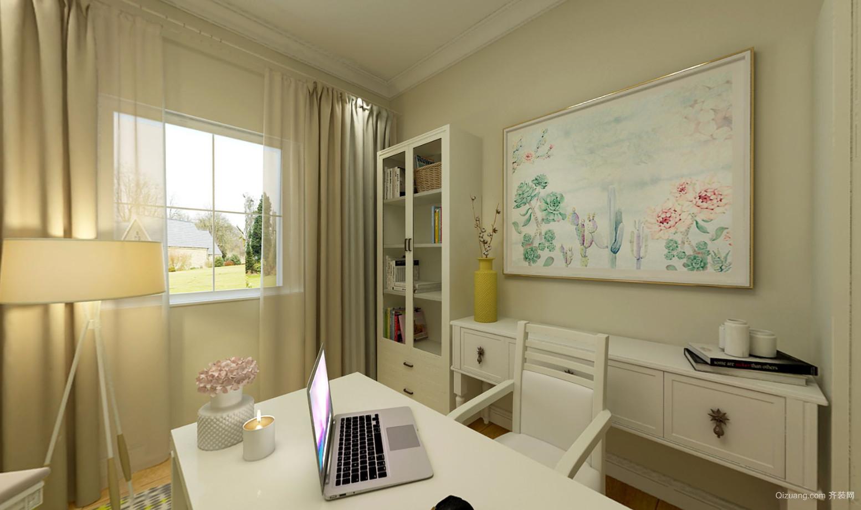 纽宾凯汉city国际社区田园风格装修效果图实景图
