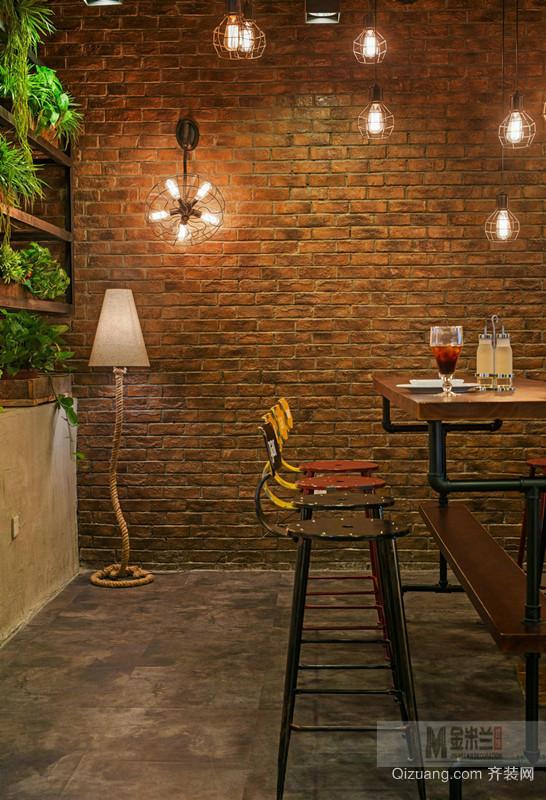 咖啡餐饮现代简约装修效果图实景图