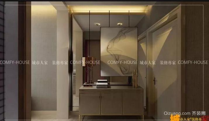 一室一厅现代简约装修效果图实景图