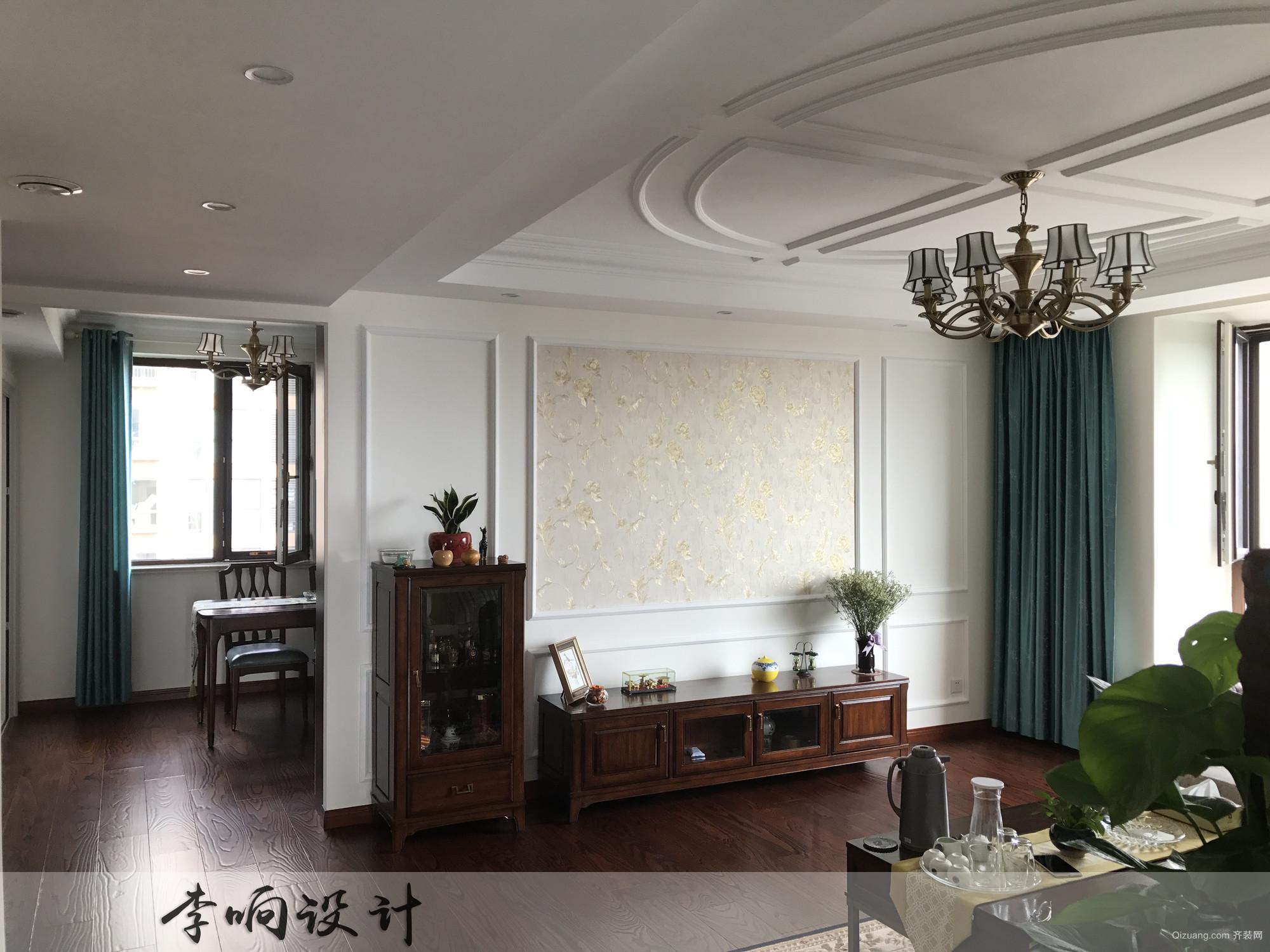 中城嘉汇美式风格装修效果图实景图